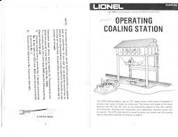 2315 coaling station Lionel Track Wiring-Diagram 2315 instructions with notes p 1