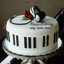 boy happy birthday cake with name edit