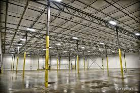 Warehouse Led Light Fixtures Texas Warehouse Led Lighting Installation Spark Lighting