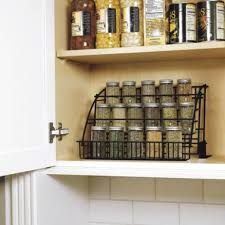 Rubbermaid Coated Wire In Cabinet Spice Rack Kitchen Black Storage Inside  Rubbermaid Coated Wire In Cabinet Spice Rack