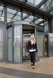 Decorating circular door images : Kaba - Revolving doors and circular sliding doors