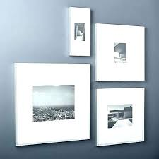 modern silver collage frame family wall frames set wooden photo creative style art