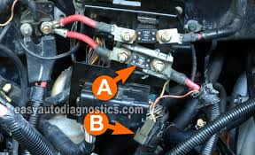 part 3 how to test the alternator (1997 2002 4 6l ford f150) Remove Relay From Fuse Box 1998 Ford Expedition mega fuse (1997 1998 f150) Ford Expedition Fuse Diagram