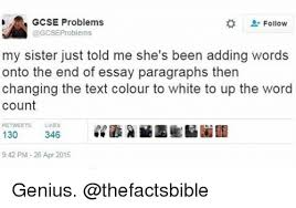 ✅ best memes about sisters sisters memes memes genius and word count gcse problems follow gcseproblems my sister