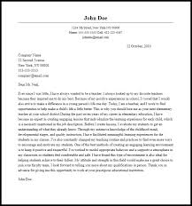 Educator Cover Letter Professional Elementary Teacher Cover Letter Sample