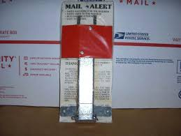 mailbox with mail indicator delivery indicator box alert flag spring loaded delivered goes l7 mail