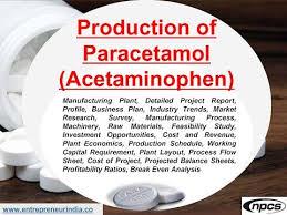 Paracetamol Manufacturing Process Flow Chart Production Of Paracetamol Acetaminophen Bulk