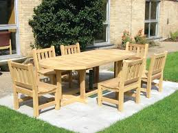 full image for garden table pallet wood top wooden outdoor furniture wooden rectangular garden table and