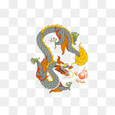 Aksi barongan ireng dan barongsai versi kartun. Chinese New Year Lion Dance Cartoon