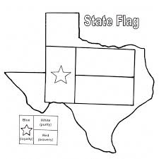 Small Picture Texas State Flag Coloring Sheet