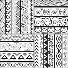 Simple Patterns To Draw Extraordinary Simple Drawing Patterns At GetDrawings Free For Personal Use