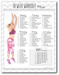 My Weekly Schedule My Weekly Workout Schedule Thequeenbuzz