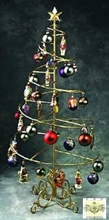 10 Spiral Ornament Display Stand Best Ornament Display Stand Ornament Trees Rotating Large Branches