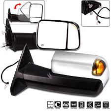 Ram 2500 Mirror Lights Amazon Com Aintier Rear View Mirrors Towing Mirrors