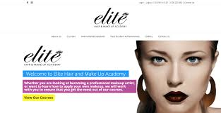 makeup at elite hair and make up academy