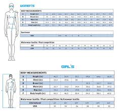 Bathing Suit Top Size Chart 65 Exact Arena Swimsuit Size Chart