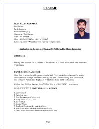 Resum Mesmerizing new resum vijayan40