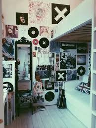 Bedroom: Boys Music Bedroom With Guitar Shelving - Teenage Bedroom