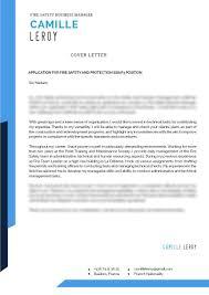 Cover Letter Security Mycvfactory