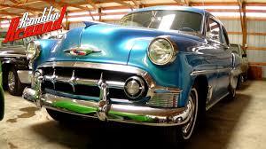 1953 Chevrolet Bel Air Two Door - Very Nice - YouTube