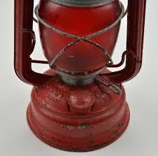 vintage red glass oil lamp designs