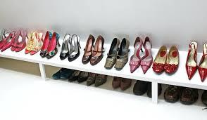 building closet shelves image of easy closet shoes racks diy closet storage plans