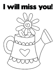 Coloring Get Well Soon Printable Coloring Pages
