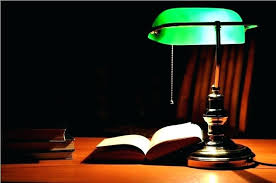 bankers desk lamp shade replacement also image of green antique