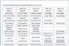 Scheduel Maker Class Schedule Maker Weekly Template Meetwithlisa Info
