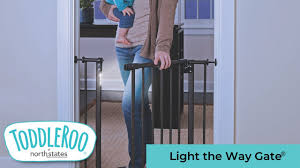 North Light The Way Toddleroo By North States Light The Way Gate