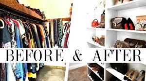 how to makeover your closet handbag shoe clothing organization shea whitney