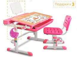 <b>Комплект</b> парта и <b>стульчик Mealux</b> EVO-04