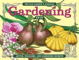 farmers almanac gardening calendar. Contemporary Calendar The 2019 Old Farmeru0027s Almanac Gardening Calendar  In Farmers