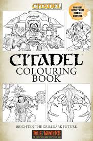 citadel colouring book