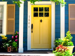 Yellow Exterior Paint Ideas House Color Schemes  Idolza - House designs interior and exterior