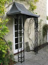 lead and wrought iron porch on hamilton road lansdown bath