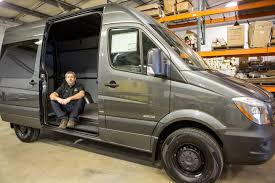 Converted Vans Sprinter Van Conversions Oregon Motorcoach Center Portland