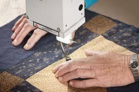 George longarm quilting machine | APQS & George Hopping Foot Adamdwight.com