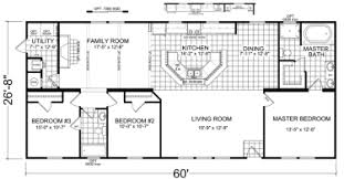 double wide mobile home floor plans. Perfect Plans Skylar  3 Beds  2 Baths 1600 SqFt 28 X 60 Double Wide Economy Priced  Homes Throughout Mobile Home Floor Plans A
