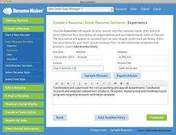Sarmsoft Resume Builder Pretty Resume Maker Professional Free Download Free Trial Resume