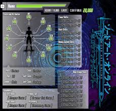 dungeons and dragons character sheet online sword art online dandd inspired character sheet by of nihility on