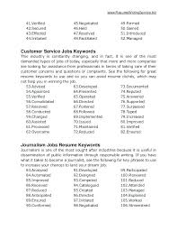 Resume Keywords Interesting Resume Keywords And Phrases Good Words To Put On A Resume Key Words