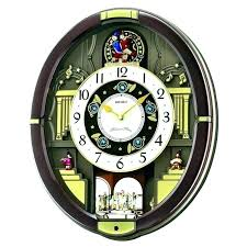 gear moving clock wall india metal decor