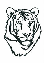 Small Picture Tiger Coloring Pages tiger coloring pages 3LRG Cartoons