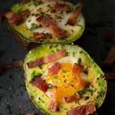 baked avocado and egg nest recipe