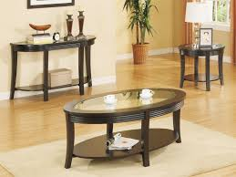 furniture coffee table end table set lovely oval coffee table set