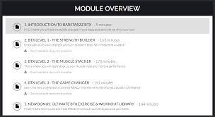 barstarzz btx module overview