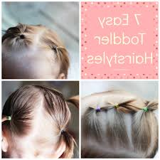 cute hairstyles for toddlers with short hair easy toddler hairstyles simplistically sy