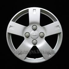 chevrolet vintage hub caps and trims chevrolet aveo 2006 2011 hubcap genuine gm factory oem wheel cover 3250