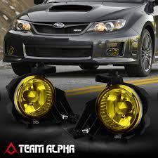 2008 Wrx Fog Light Kit Details About Fits 2008 2011 Subaru Impreza Wrx Yellow Bumper Fog Light W Switch Harness Bezel